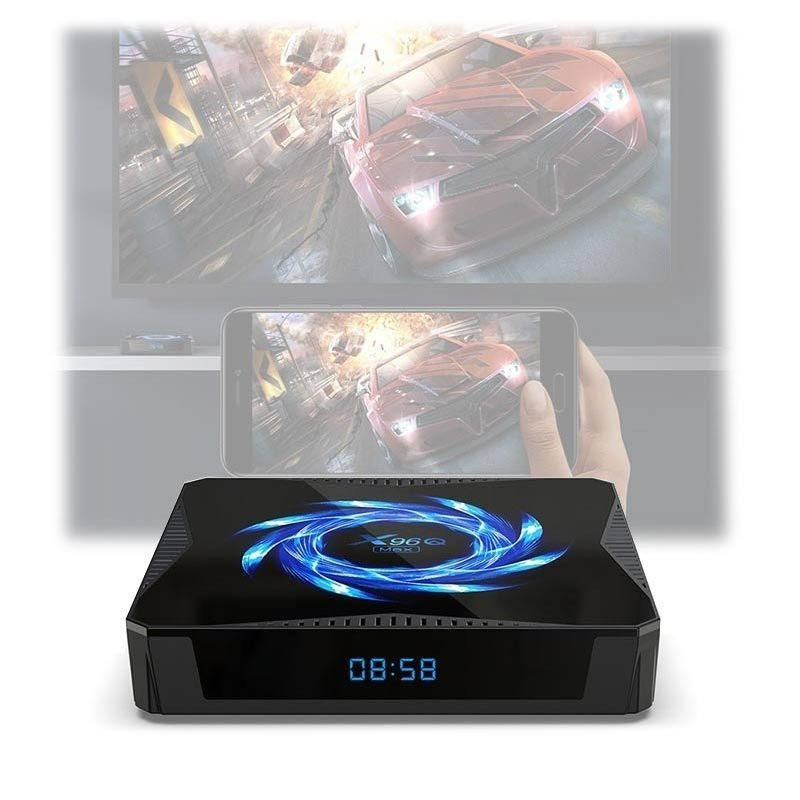 Smart TV Box Android 10 X96Q Max