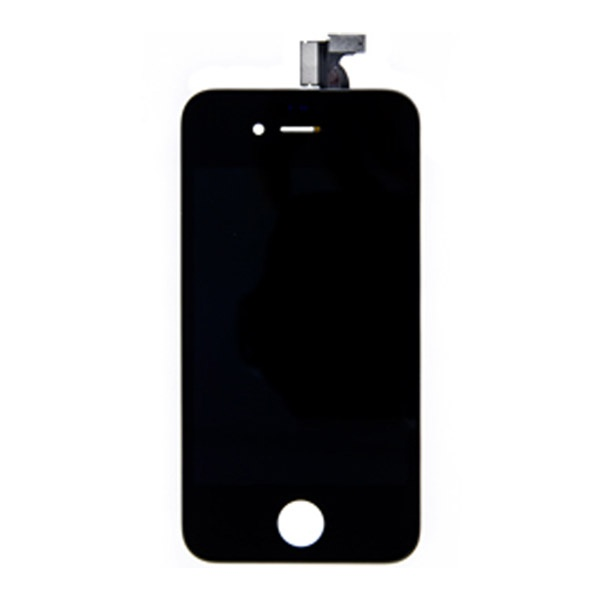 ecran lcd compatible pour iphone 4 noir. Black Bedroom Furniture Sets. Home Design Ideas