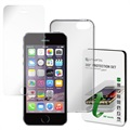 Set de Protection 360 4smarts pour iPhone 5 / 5S / SE - Transparent