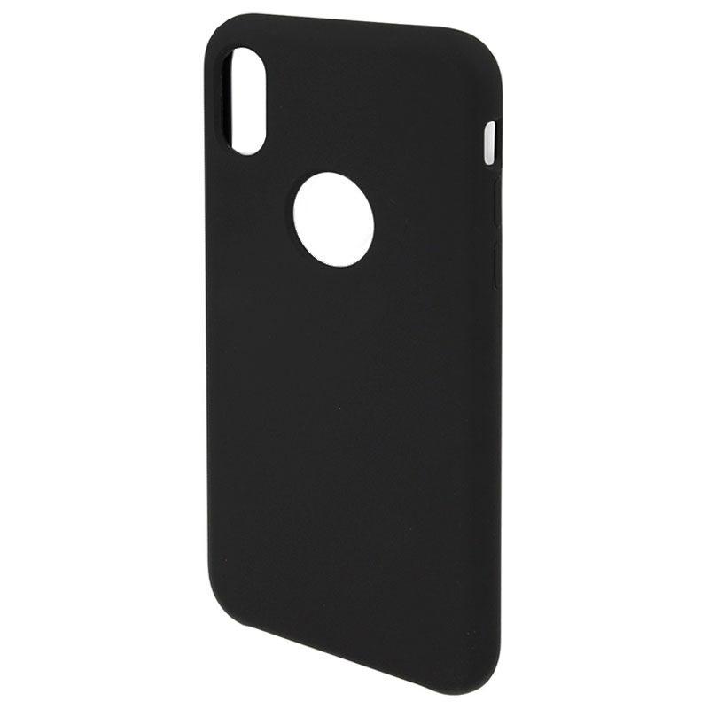 coque iphone x noir silicone