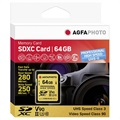 Carte Mémoire SDXC AgfaPhoto Professional High Speed