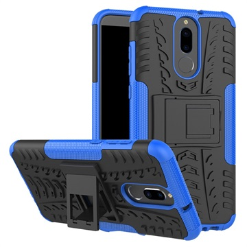 coque huawei mate 10 lite hybride antid rapante bleu noir. Black Bedroom Furniture Sets. Home Design Ideas