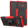 Coque Hybride Antidérapante pour Samsung Galaxy Note 8 - Rouge / Noire
