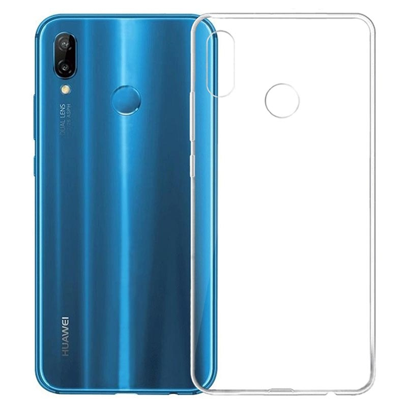 Coque Huawei P20 Lite Antidérapante en TPU - Transparent