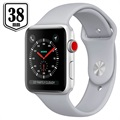 Apple Watch Series 3 LTE MQKF2ZD/A - Aluminium, Bracelet Sport, 38mm, 16Go - Nuage/Argenté