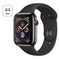 Apple Watch Series 4 LTE MTX22FD/A - Acier Inoxydable, Bracelet Sport, 44mm, 16Go
