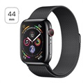 Apple Watch Series 4 LTE MTX32FD/A - Acier Inoxydable, Bracelet Milanais, 44mm, 16Go