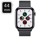 Apple Watch Series 5 LTE MWWL2FD/A - Acier Inoxydable, Bracelet Milanais, 44mm