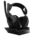 Astro A50 Wireless Gaming Headset and Charging Station - PC/PS4/PS5 - Black