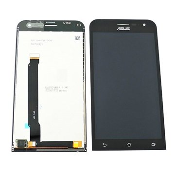 ecran lcd pour asus zenfone 2 ze500cl noir. Black Bedroom Furniture Sets. Home Design Ideas