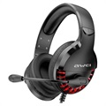 Awei ES-770i E-Sports Wired Gaming Headset - Black