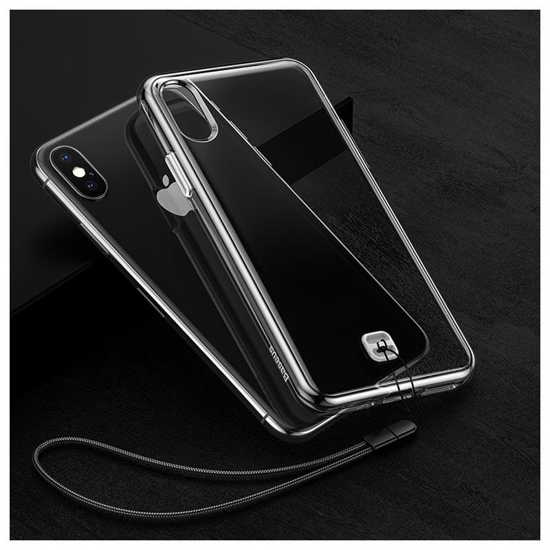 coque iphone xs avec cordon