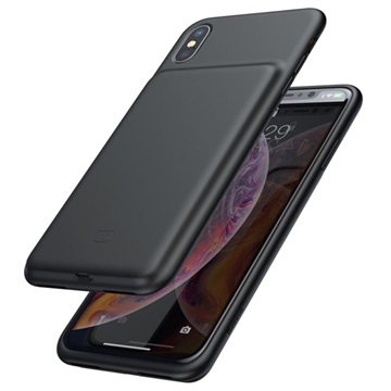 Coque Batterie iPhone X / iPhone XS en Silicone Baseus Smart - Noire