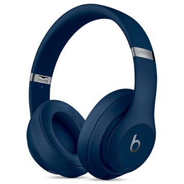 casque circum auriculaire sans fil studio3 de beats by dr dre bleu. Black Bedroom Furniture Sets. Home Design Ideas