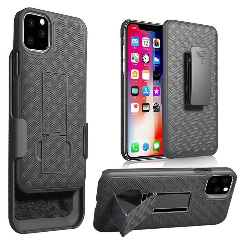 Belt Clip Hybrid Case for iPhone 11 Pro Black 10102019 01 p