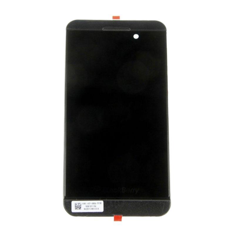 Coque avant et ecran lcd pour blackberry z10 4g noir for Photo ecran blackberry z10