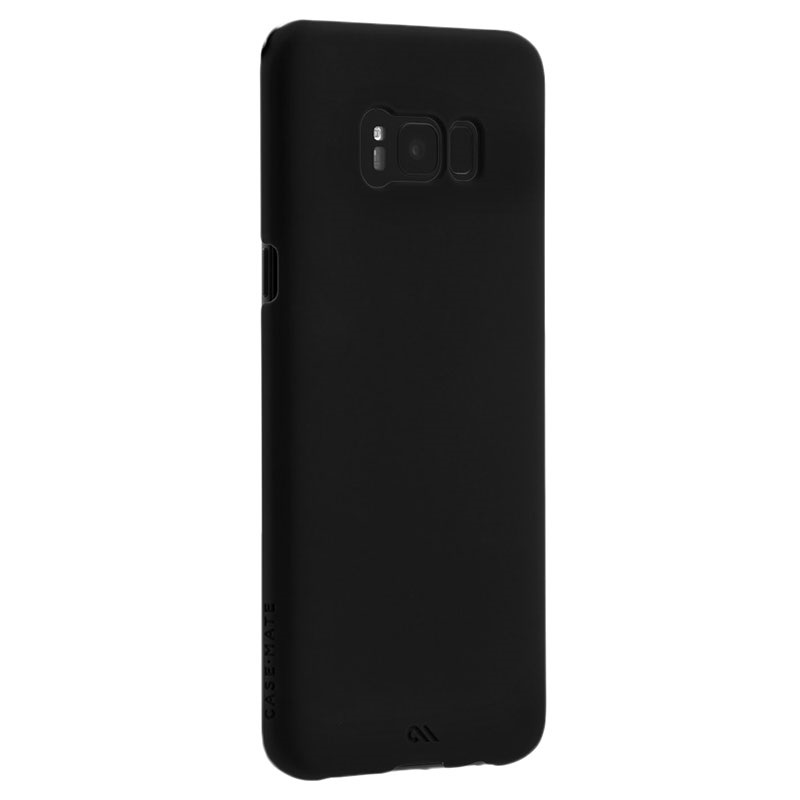 coque case mate barely there pour samsung galaxy s8 noire. Black Bedroom Furniture Sets. Home Design Ideas