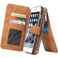 iPhone 6/6S Caseme Multifunctional Wallet Leather Case - Brown