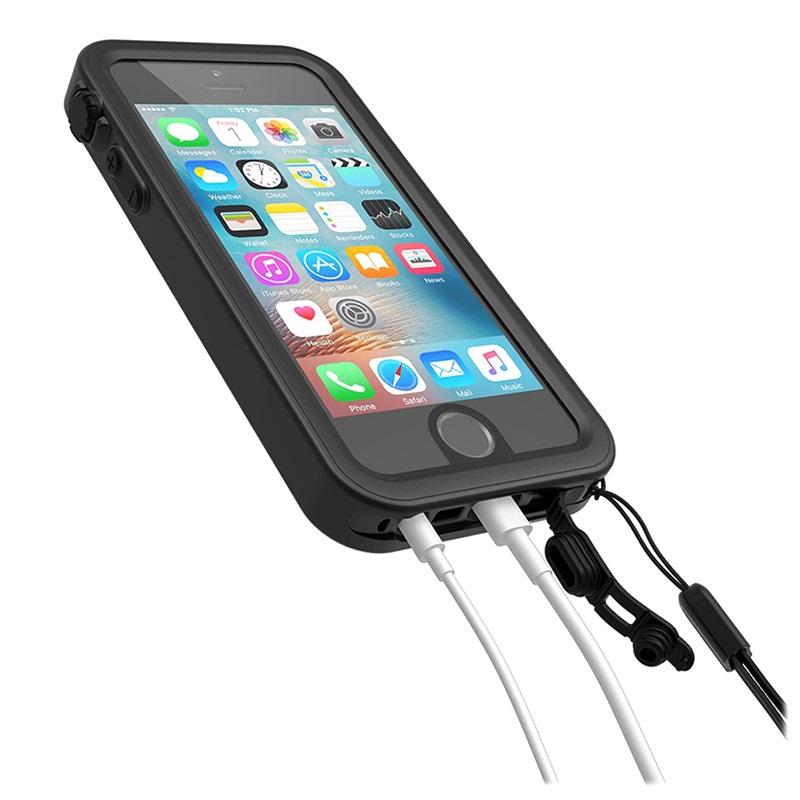 coque etanche catalyst pour iphone 5 5s se noire