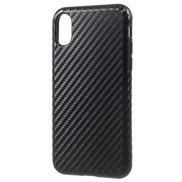 coque iphone x fibre de carbone