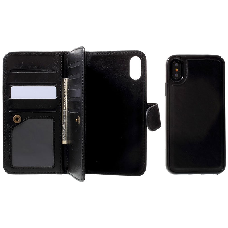 coque iphone x portefeuille