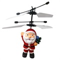 Flying Santa Claus Helicopter Toy