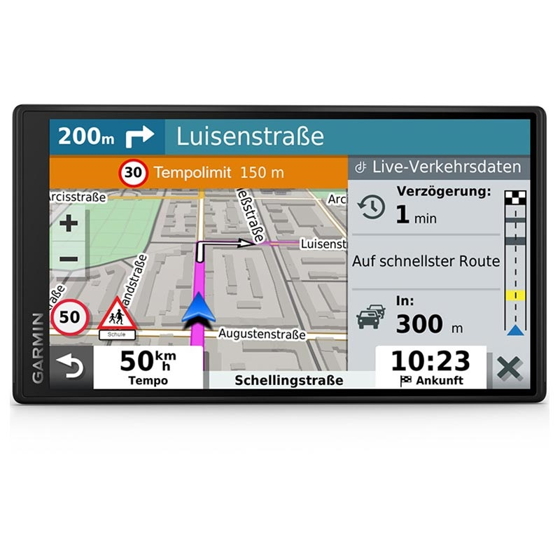 Carte Europe Garmin.Navigateur Gps Garmin Drivesmart 55 Mt D Cartes D Europe