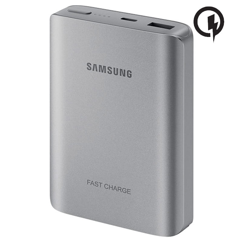batterie de secours charge rapide samsung eb pn930cs 12000mah argent e. Black Bedroom Furniture Sets. Home Design Ideas