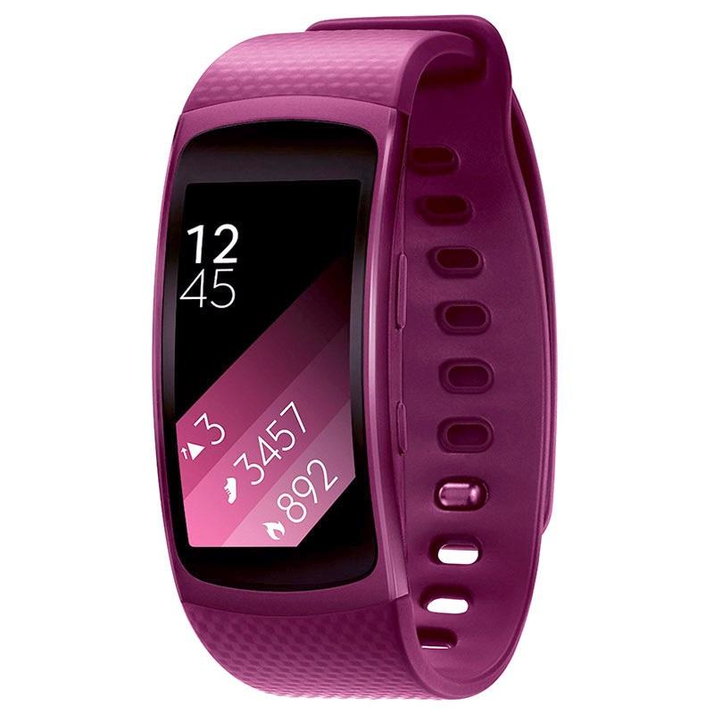 bracelet de sport samsung gear fit2 sm r3600zia taille l