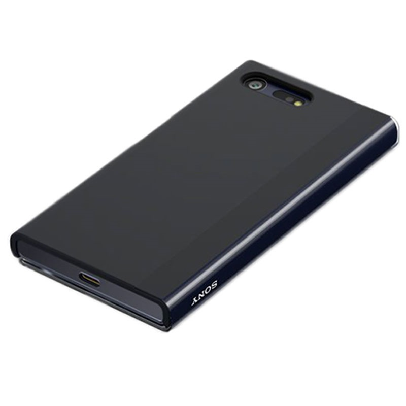 tui tactile style cover touch sctf20 pour sony xperia x compact noir. Black Bedroom Furniture Sets. Home Design Ideas