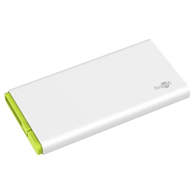 Goobay Powerbank 10.0 with MicroUSB Cable - 2 x USB-A - 10000mAh