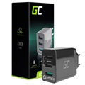 Chargeur Mural Rapide Triple USB Green Cell QC3.0 - 30W