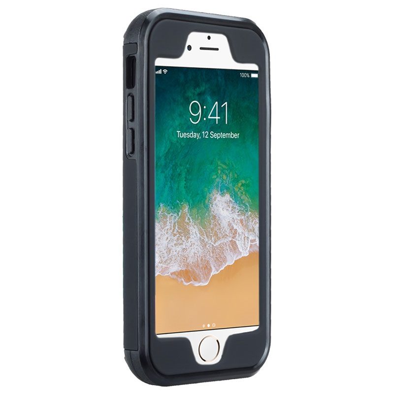 Coque Hybride avec Miroir & Porte-Cartes pour iPhone 6/6S