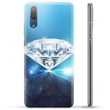 coque huawei p20 diamant