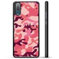 Coque de Protection Huawei P20 - Camouflage Rose