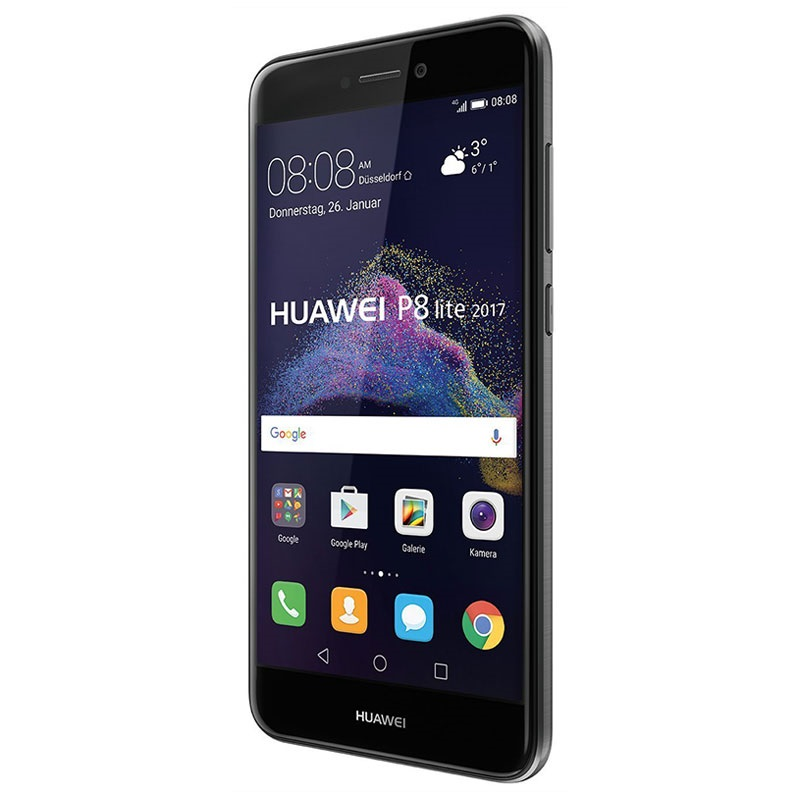 huawei p8 lite 2017 16gb noir. Black Bedroom Furniture Sets. Home Design Ideas
