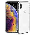 Coque iPhone XS Auto-Réparatrice Just Mobile Tenc - Cristalline