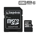 Carte Mémoire MicroSDHC Kingston Canvas Select SDCS/16GB - 16Go