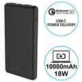Batterie Externe Quick Charge 3.0&USB-C PD Ksix 10000mAh - 18W