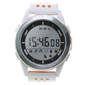 Montre Connectée Étanche Ksix Fitness Explorer 2 - Blanche / Orange
