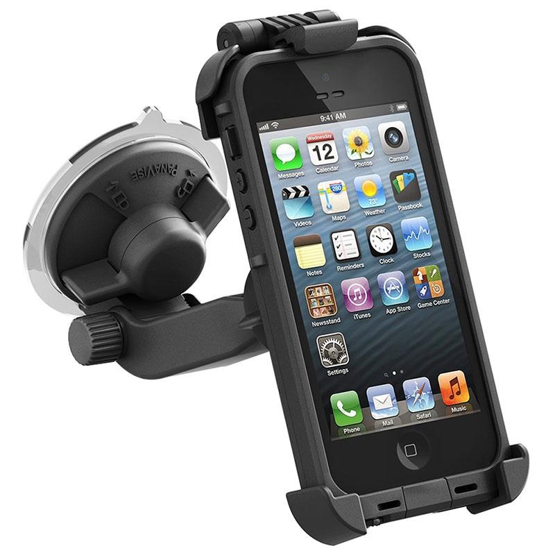 support voiture lifeproof pour iphone 5 5s se. Black Bedroom Furniture Sets. Home Design Ideas