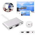 Adaptateur Lightning / HDMI, VGA, Audio, MicroUSB - iPhone, iPad