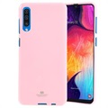 Coque Samsung Galaxy A50 en TPU Mercury Goospery Jelly - Rose