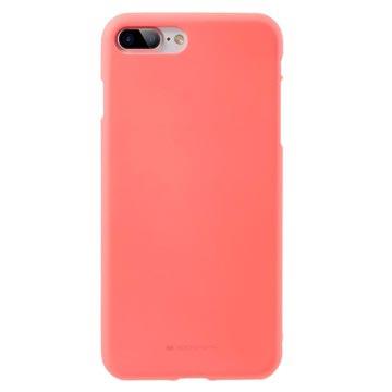 coque iphone 7 rose mate