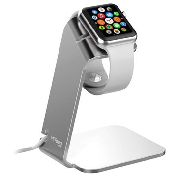 Apple Watch MiTagg NuStand Desktop Stand - Silver