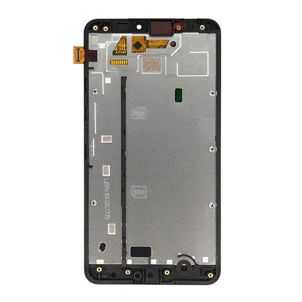 Coque avant et ecran lcd pour microsoft lumia 640 xl noir for Photo ecran lumia 640