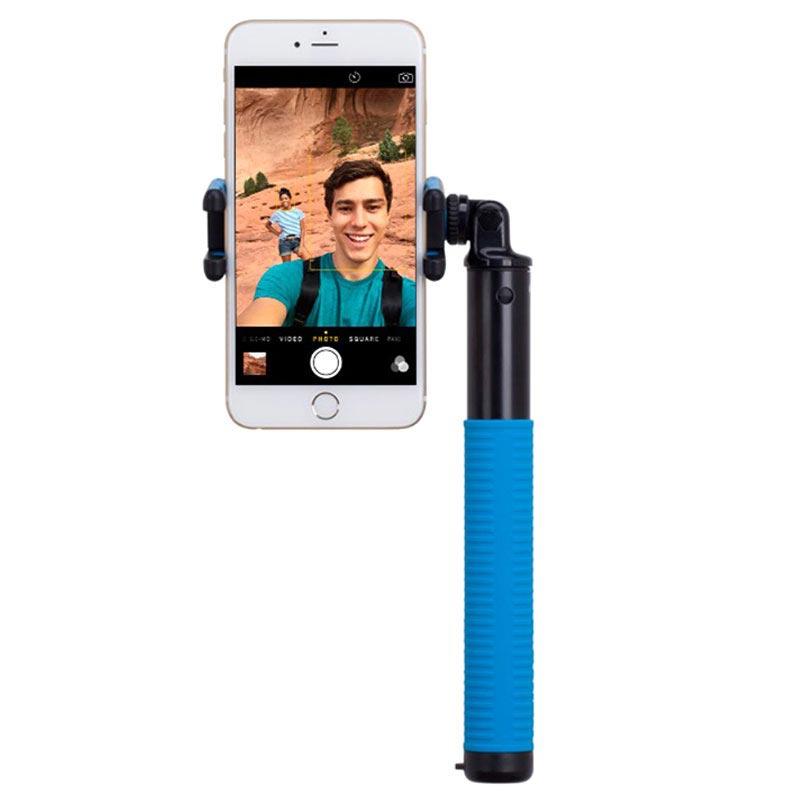 perche selfie bluetooth momax selfie hero bleue. Black Bedroom Furniture Sets. Home Design Ideas