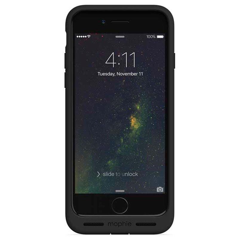 coque de chargement sans fil mophie charge force pour iphone 7 plus noir. Black Bedroom Furniture Sets. Home Design Ideas