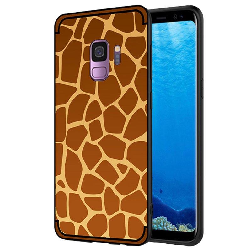 coque samsung s9 girafe