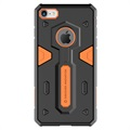 Coque Hybride Nillkin Defender II pour iPhone 7 / iPhone 8 - Noire / Orange